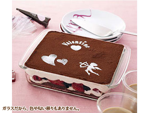 iwaki パイレックス  ケーキ焼き皿 角型 ベーシック SK222T