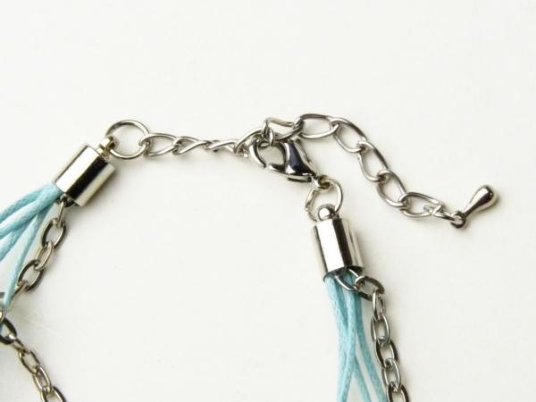 画像4: 【ネコポスOK】【値下げしました】4連ブレス ブルー