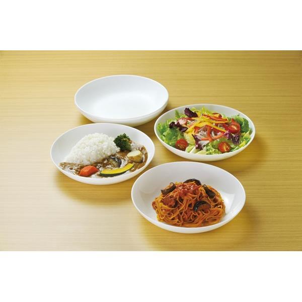 画像3: ボルミオリロッコ じょうぶな白い深皿 5枚組 セット 強化ガラス 白い食器 盛皿 お皿 丸皿 ボルミオリ・ロッコ【ネコポス不可】