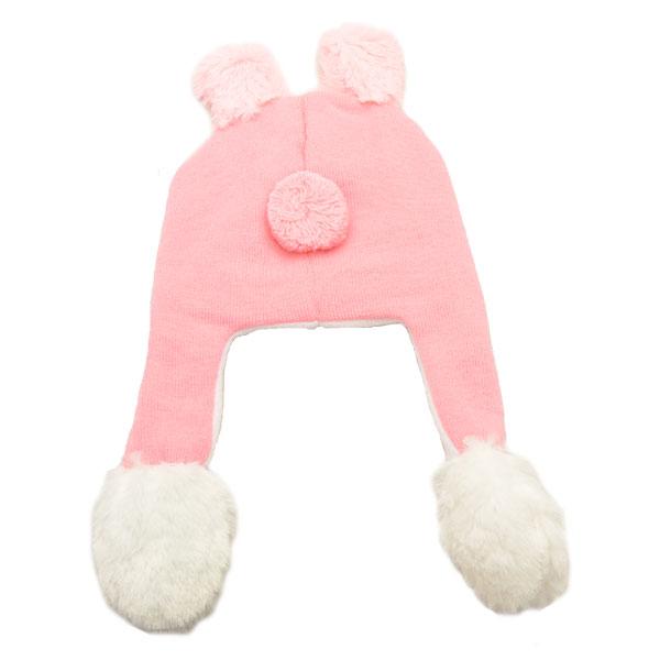 画像3: 【ネコポス不可】ピョコッとアニマルキャップ 耳やしっぽが動くよ ウサギ/ネコ/猫/うさぎ/かわいい/プレゼント