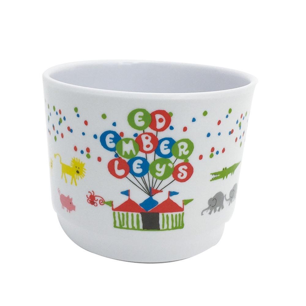 画像2: エド・エンバリー マグカップ ズーフレンズ メラミン かわいい 出産祝い ベビー食器 子供用 軽い 割れにくい 男女兼用 ネコポス不可