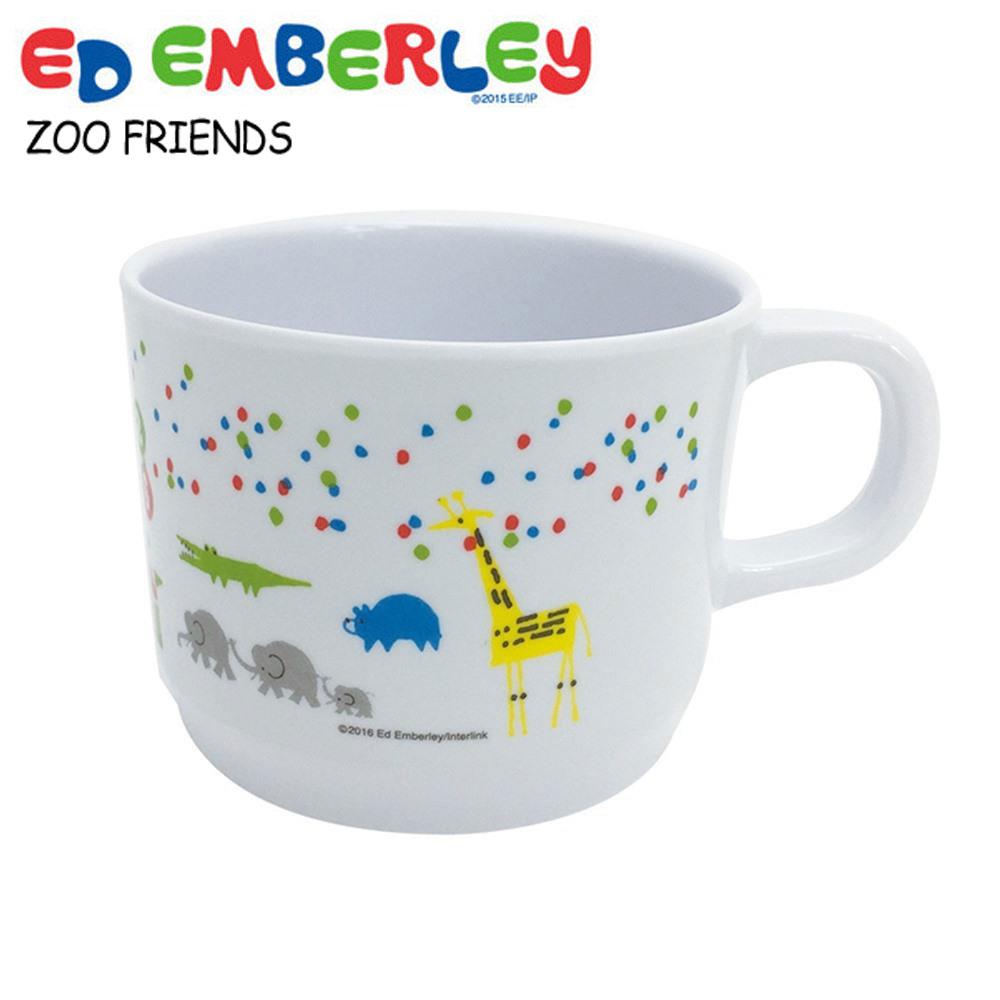 画像1: エド・エンバリー マグカップ ズーフレンズ メラミン かわいい 出産祝い ベビー食器 子供用 軽い 割れにくい 男女兼用 ネコポス不可