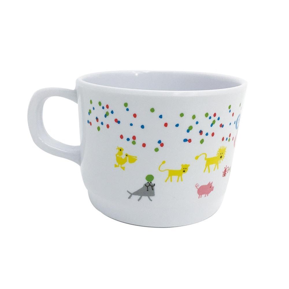 画像3: エド・エンバリー マグカップ ズーフレンズ メラミン かわいい 出産祝い ベビー食器 子供用 軽い 割れにくい 男女兼用 ネコポス不可